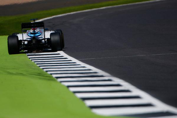 Silverstone, Northamptonshire, UK Friday 8 July 2016. Valtteri Bottas, Williams FW38 Mercedes. World Copyright: Hone/LAT Photographic ref: Digital Image _ONY7762
