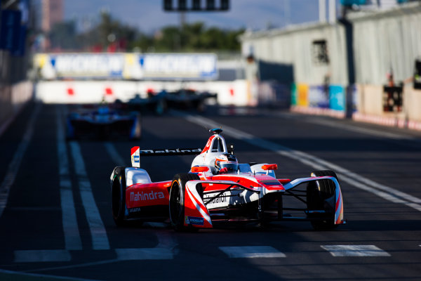 2016/2017 FIA Formula E Championship. Marrakesh ePrix, Circuit International Automobile Moulay El Hassan, Marrakesh, Morocco. Felix Rosenqvist (SWE), Mahindra Racing, Spark-Mahindra, Mahindra M3ELECTRO.  Saturday 12 November 2016. Photo: Sam Bloxham/LAT/Formula E ref: Digital Image _SLA8292