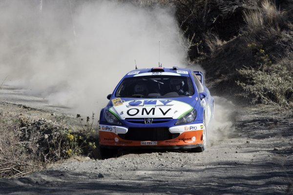 2006 FIA World Rally Champs. Round Three; Rally Mexico.; 2nd - 5th March 2006.Manfred Stohl; Peugeot; action.World Copyright: LAT/McKleinref: WRCMEX06-13 JPG