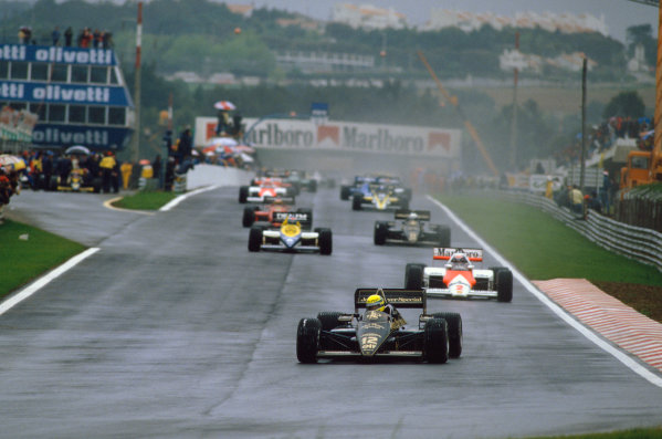 1985 Portuguese Grand Prix.