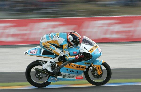 2008 MotoGP Championship.Le Mans, France. 15th - 18th May, 2008.Bradley Smith Polaris World Aprilia qualifies 2nd for the 125cc race.World Copyright: Martin Heath / LAT Photographic