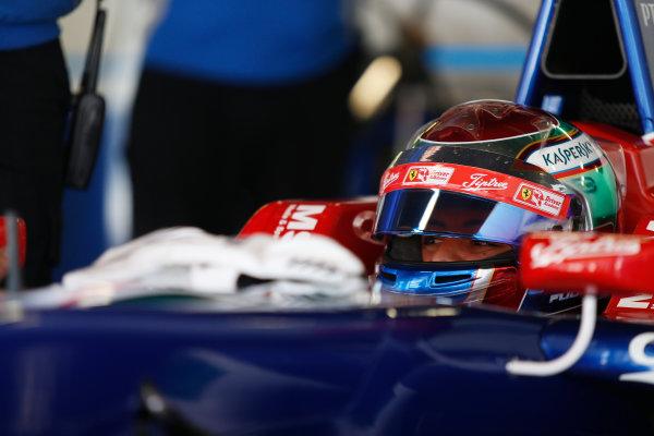 2015 GP3 Series Test 3 - Circuit de Catalunya, Barcelona, Spain. Thursday 23 April 2015. Antonio Fuoco (ITA, Carlin)  Photo: Sam Bloxham/GP3 Series Media Service. ref: Digital Image _SBL1759