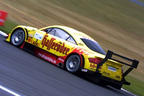 Laurent Aiello (FRA) Team Abt Audi TT won the qualifying race.