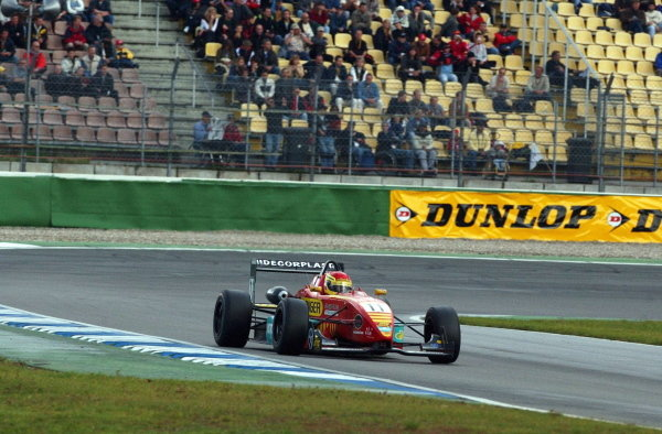 Norbert Siedler (AUT), Swiss Racing Team, won the Sunday race confortably.