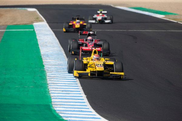 2017 FIA Formula 2 Round 10. Circuito de Jerez, Jerez, Spain. Saturday 7 October 2017. Norman Nato (FRA, Pertamina Arden).  Photo: Andrew Ferraro/FIA Formula 2. ref: Digital Image _FER1939