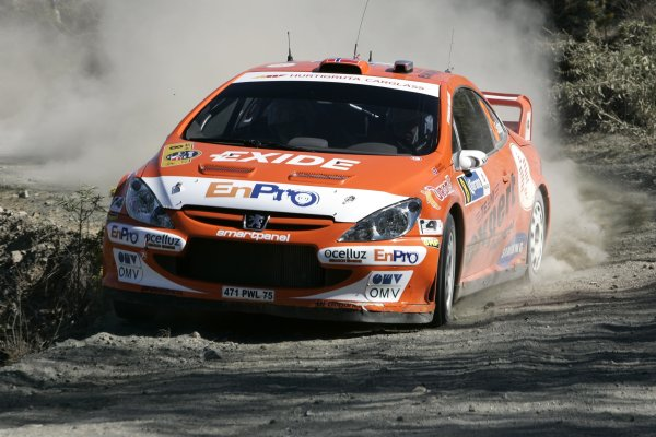 2006 FIA World Rally Champs. Round Three; Rally Mexico.; 2nd - 5th March 2006.Henning Solberg; Peugeot; action.World Copyright: LAT/McKleinref: WRCMEX06-11 JPG