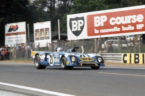 1973 Le Mans 24 hours.Le Mans, France. 9-10 June 1973.Pierre Maublanc/Robert Mieusset (Chevron B23-BMW), retired.World Copyright: LAT PhotographicRef: 35mm transparency 73LM14