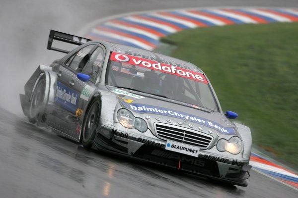 2006 DTM Championship.Round 2, Eurospeedway Lausitzring. 28th - 30th April 2006.Bruno Spengler (CDN), AMG-Mercedes, AMG-Mercedes C-KlasseWorld Copyright: Miltenburg/xpb cc/LATref: Digital Image Only