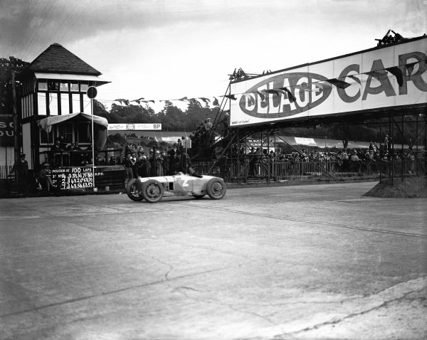 Brooklands, England. 7th August 1926.