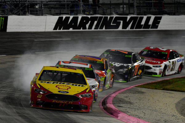 Monster Energy NASCAR Cup Series First Data 500 Martinsville Speedway, Martinsville VA USA Sunday 29 October 2017 Joey Logano, Team Penske, Shell-Pennzoil Ford Fusion World Copyright: Scott R LePage LAT Images ref: Digital Image lepage-171029-mart-9243