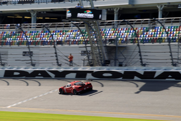 2017 WeatherTech Sportscar Championship December Daytona Testing Tuesday 5 December 2017 #62 Risi Competizione Ferrari 488 GTE: Toni Vilander  World Copyright: Alexander Trienitz/LAT Images  ref: Digital Image 2017-IMSA-Test-Dayt-AT1-0766