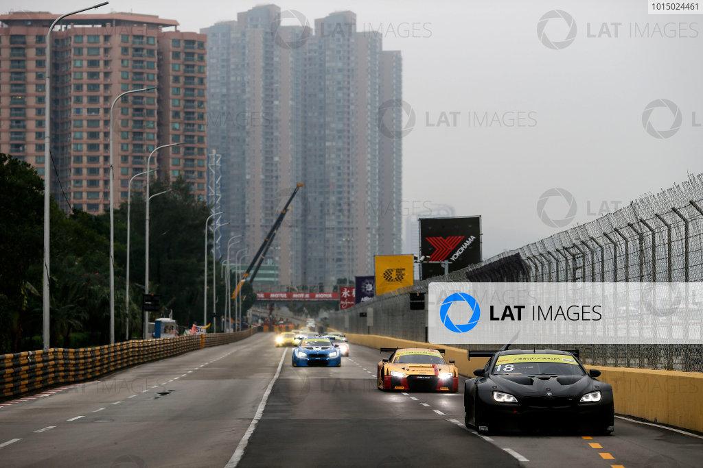 2015 FIA GT World Cup Circuit de Guia, Macau, China Sunday 19 November 2017. Augusto Farfus, BMW Team Schnitzer, BMW M6 GT3  World Copyright: Alexander Trienitz/LAT Images ref: Digital Image 2017-Macau-GP-JG1-1601