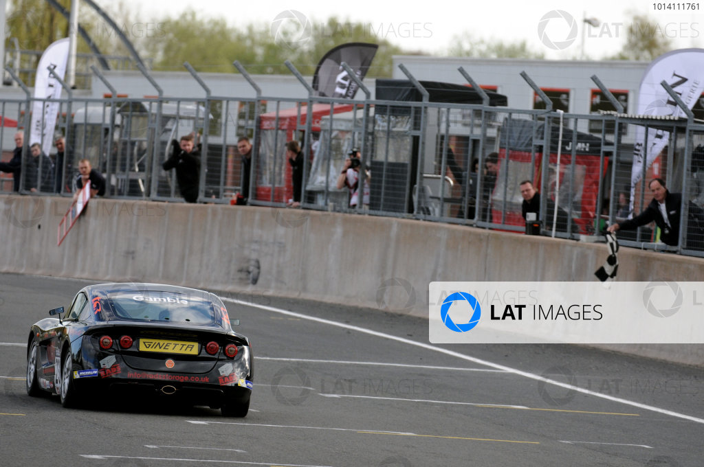 2014 Protyre Motorsport Ginetta GT5 Challenge, Oulton Park, Cheshire. 19th April 2014. George Gamble (GBR) TCR Ginetta G40. World Copyright: Ebrey / LAT Photographic.