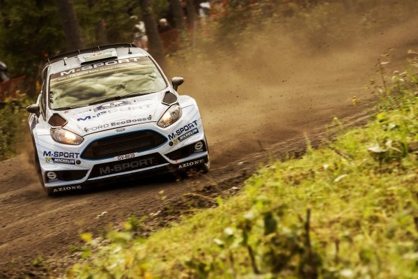 Elfyn Evans (GBR) / Daniel Barritt (GBR) Ford Fiesta RS WRC at FIA World Rally Championship, R8, Neste Oil Rally Finland, Preparations & Shakedown, Jyvaskyla, Finland, Thursday 30 July 2015.