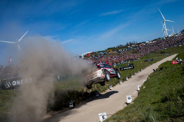 2017 FIA World Rally Championship, Round 06, Rally Portugal, May 18 - 21 2017, Elfyn Evans, Ford, action, Worldwide Copyright: McKlein/LAT