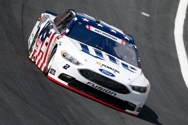 Monster Energy NASCAR Cup Series Coca-Cola 600 Charlotte Motor Speedway, Concord, NC USA Thursday 25 May 2017 Brad Keselowski, Team Penske, Miller Lite Ford Fusion World Copyright: Lesley Ann Miller LAT Images