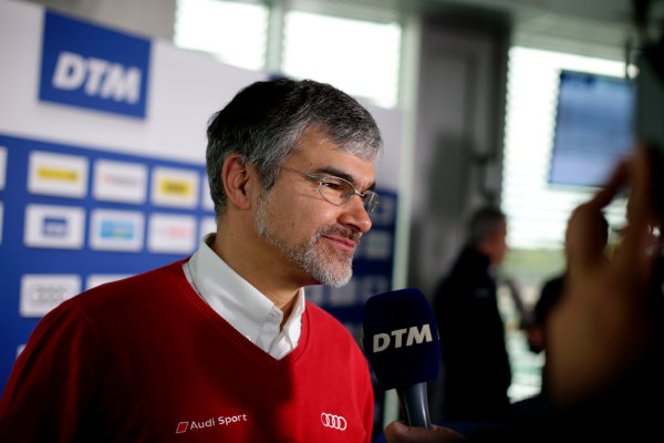 2017 DTM Testing & Media Day Hockenheim, Germany. Thursday 6 April 2017. Dieter Gass, Head of DTM Audi Sport. World Copyright: Alexander Trienitz/LAT Images ref: Digital Image 2017-DTM-MD-HH-AT1-0147