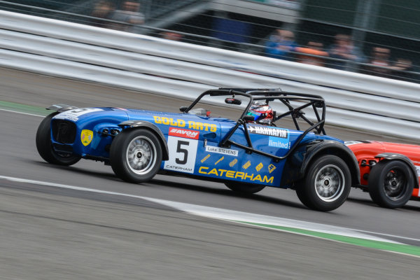 2017 Avon Tyres Caterham Seven 420-R Championship, Silverstone, 11th-12th June 2017, Luke Stevens Caterham 420R. World copyright. JEP/LAT Images