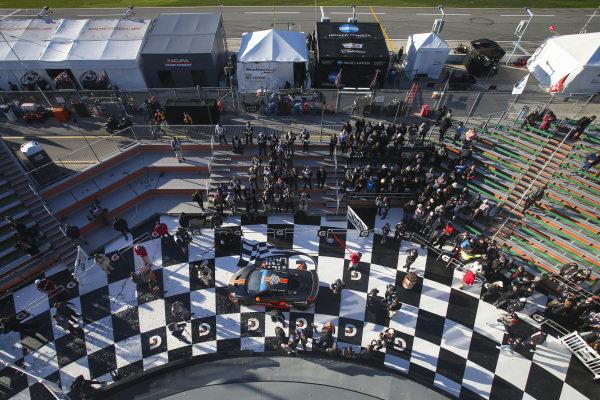 #75 Compass Racing McLaren GT4, GS: Paul Holton, Kuno Wittmer, GS Race Winner
