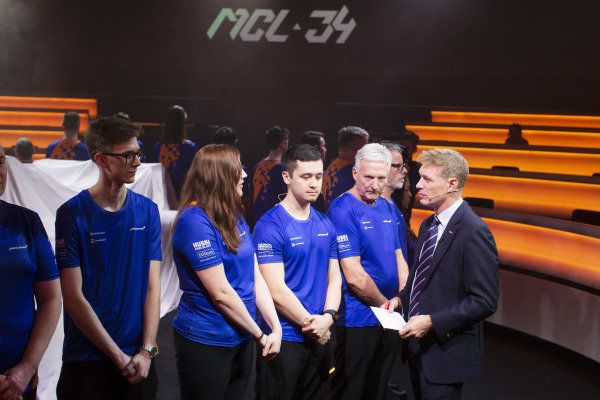 Simon Lazenby, Sky TV and McLaren employees