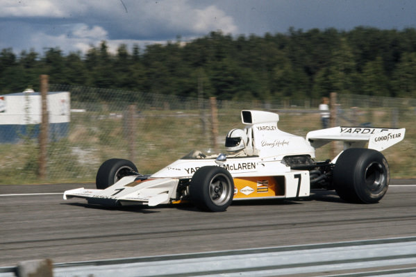 Denny Hulme, McLaren M23 Ford.