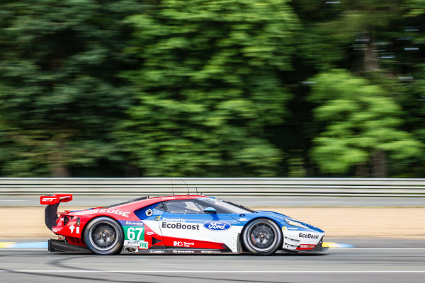 #67 Ford Chip Ganassi Racing Ford GT: Marino Franchitti, Andy Priaulx, Harry Tincknell
