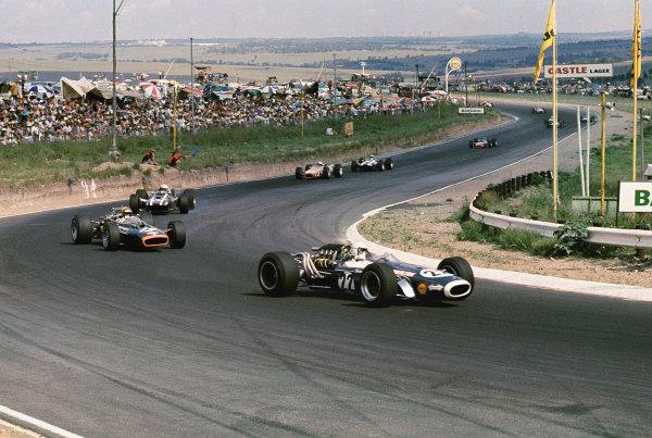 Kyalami, South Africa.30/12/67-1/1/1968.Dave Charlton (Scuderia Scribante/Brabham BT11 Repco). Ref-68 SA 29.World Copyright - LAT Photographic