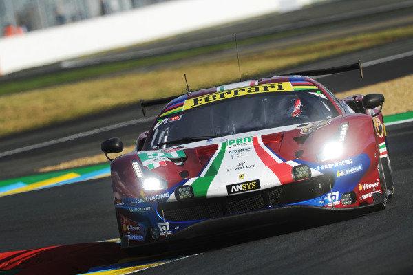 #51 AF Corse Ferrari 488 GTE EVO: Alessandro Pier Guidi, James Calado, Daniel Serra