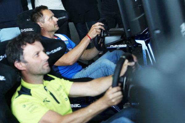 FIA WEC Esport Launch, Andy Priaulx