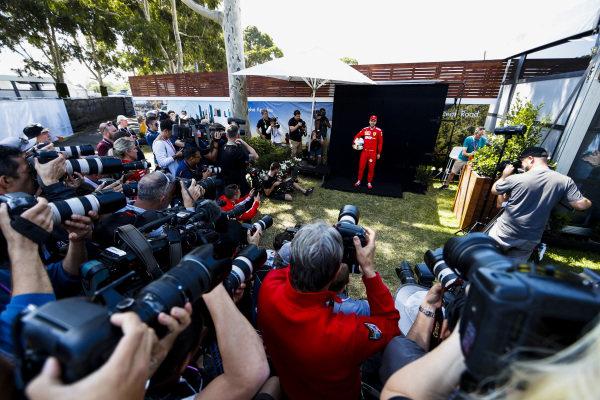 Sebastian Vettel, Ferrari during the Official Portrait