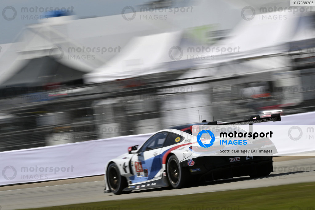 #24 BMW Team RLL BMW M8 GTE, GTLM: Jesse Krohn, John Edwards, Philipp Eng