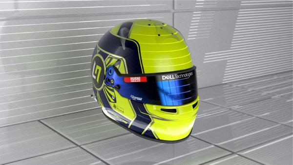Lando Norris helmet - front