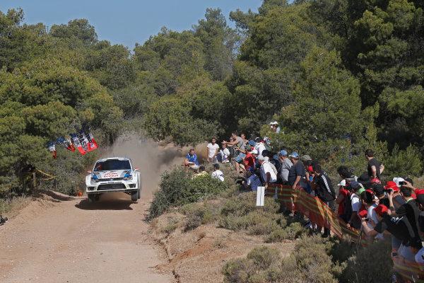 2013 FIA World Rally Championship Round 06-Acropolis rally of Greece 31/5-2/6-2013. Jari-Matti Latvala, VW WRC, Action. Worldwide Copyright: McKlein/LAT