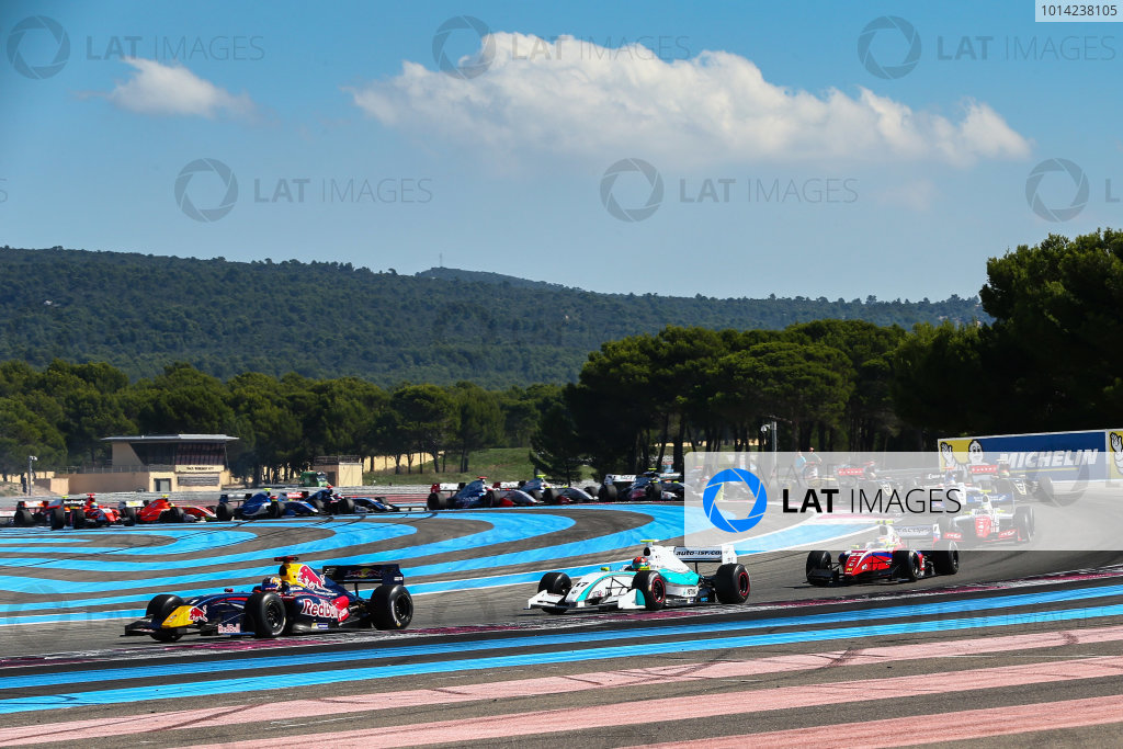 Le Castellet (FRA) SEPT 26-28 2014 - World Series by Renault 2013 at circuit Paul Ricard. Carlos Sainz jr. #1 Dams. Action. © 2014 Diederik van der Laan  / Dutch Photo Agency / LAT Photographic