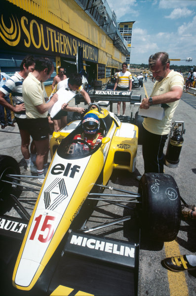 Kyalami, South Africa. 5th - 7th April 1984.