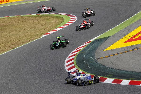 Jimmy Eriksson (SWE) Koirainen GP. GP3 Series, Rd1, Barcelona, Spain, 9-11 May 2014.