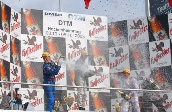 2003 DTM Championship, Hockenheim, Germany. October 4 - 5 2003.