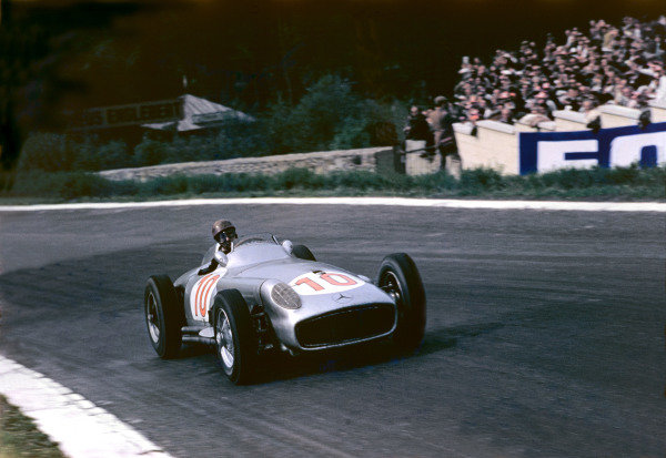 1955 Belgian Grand Prix. 