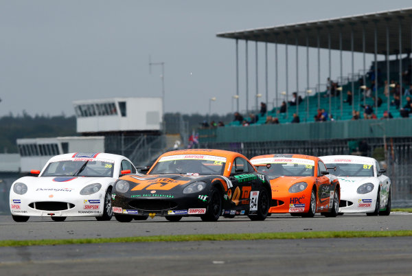 2017 Ginetta Junior Championship, Silverstone, Northants, UK. 16th-17th September 2017 Adam Smalley HHC Motorsport Ginetta Junior World copyright. JEP/LAT Images