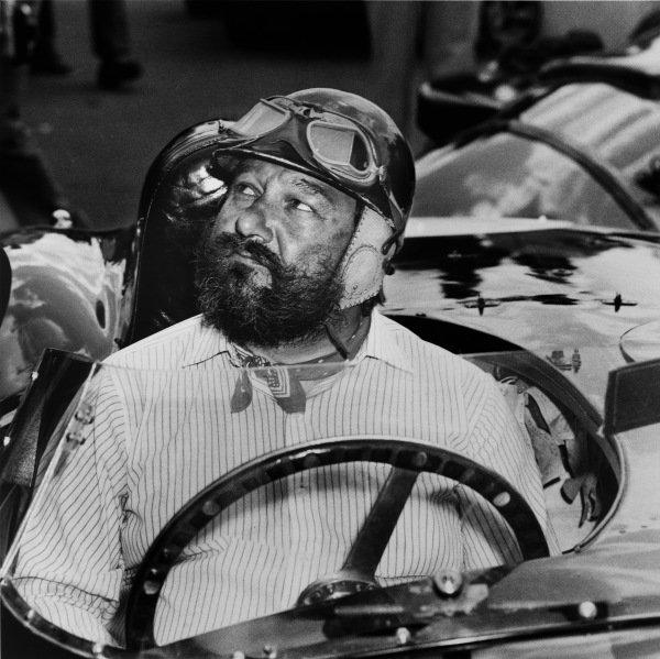 1953 Le Mans 24 hours winner.World Copyright: LAT Photographic.Ref: B/W Print.