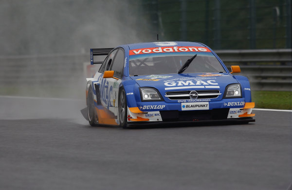 2005 DTM (German Touring Car) ChampionshipSpa-Francorchamps, Belgium. 13th - 15th May 2005 Marcel Fassler (Opel Vecrta GTS V8), action World Copyright: Andre Irlmeier/LAT Photographicref: Digital Image Only