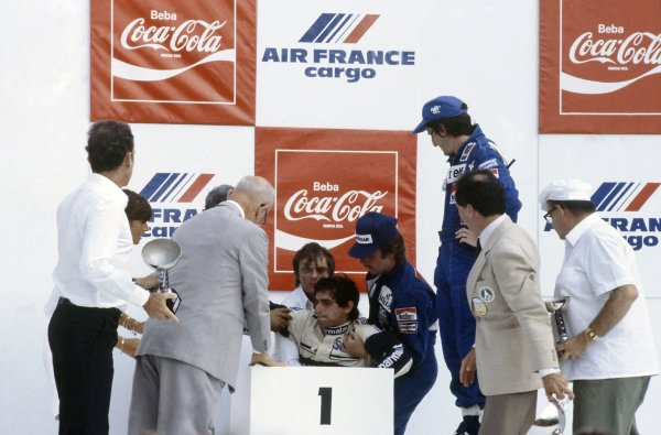 1982 Brazilian Grand Prix.