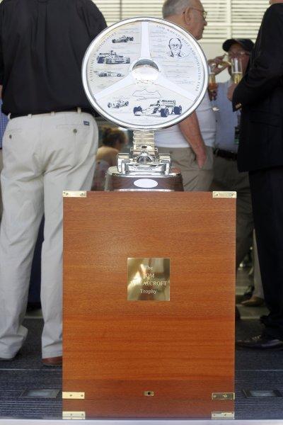2006 British Grand Prix - Saturday Qualifying Silverstone, England. 8th - 11th June. The Tom Wheatcroft Trophy, atmosphere. World Copyright: Glenn Dunbar/LAT Photographic ref: Digital Image IMG_0344