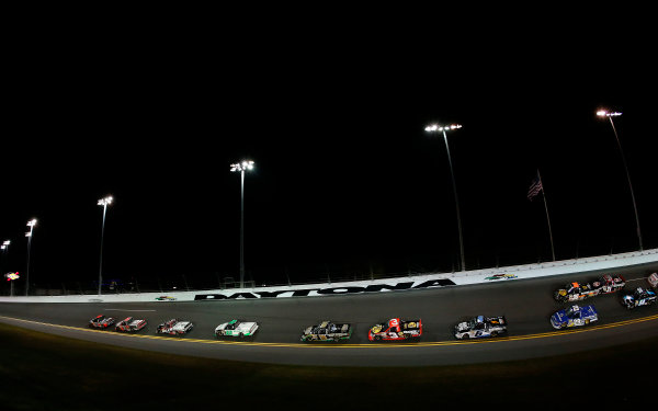 21-23 February, 2013, Daytona Beach, Florida, USA Subject:  Johnny Sauter leads.(c) 2013, Michael L. Levitt LAT Photo USA