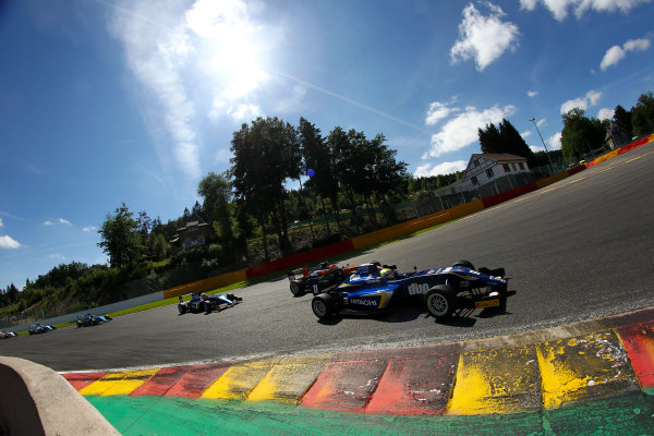2016 BRDC F3 Championship, Spa-Francorchamps, Belgium. 7th - 9th July 2016. Ricky Collard (GBR) Carlin BRDC F3. World Copyright: Ebrey / LAT Photographic.