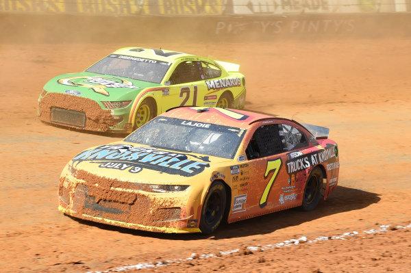 #7: Corey LaJoie, Spire Motorsports, Chevrolet Camaro NASCAR Trucks at Knoxville