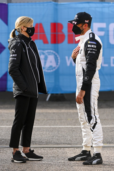 Susie Wolff, Team Principal, Venturi, with Norman Nato (FRA), Venturi Racing