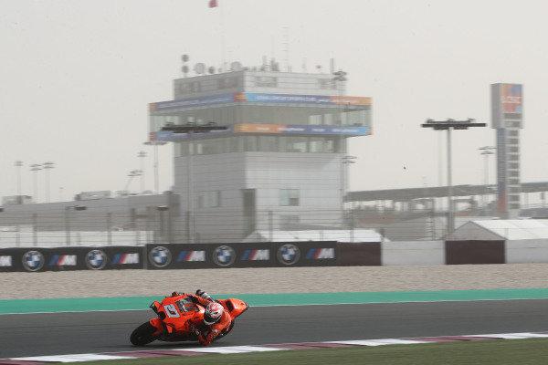 Iker Lecuona, KTM Tech3 dust on track.