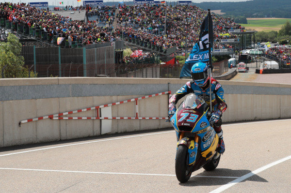 Race winner Alex Marquez, Marc VDS Racing.