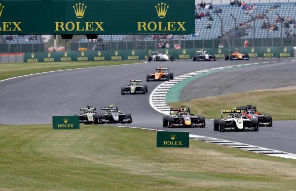 Max Fewtrell (GBR) ART Grand Prix, Richard Verschoor (NLD) MP Motorsport, Yuki Tsunoda (JPN) Jenzer Motorsport
